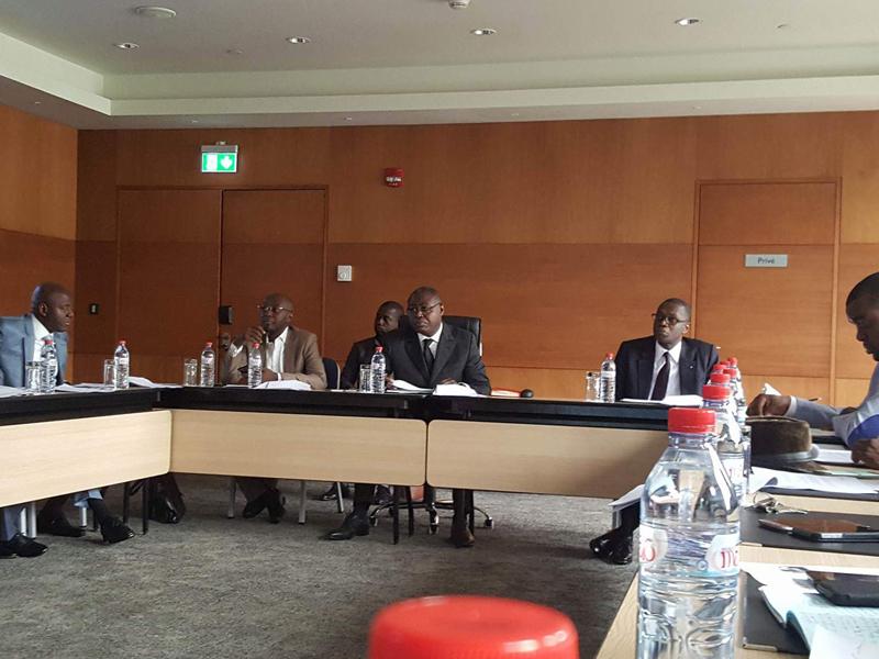 Ministre des PTT, du Regulateur des Telecoms, du Conseiller du Chef de l'Etat aux NTIC